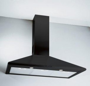 Picture of 90cm Chimney Hood Black